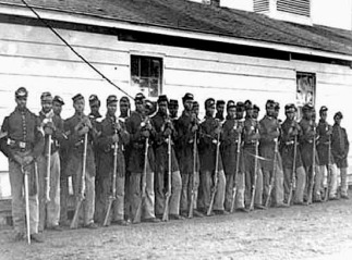 4th Regiment, U.S. Colored Troops, at Ft. Lincoln, Washington, D.C.