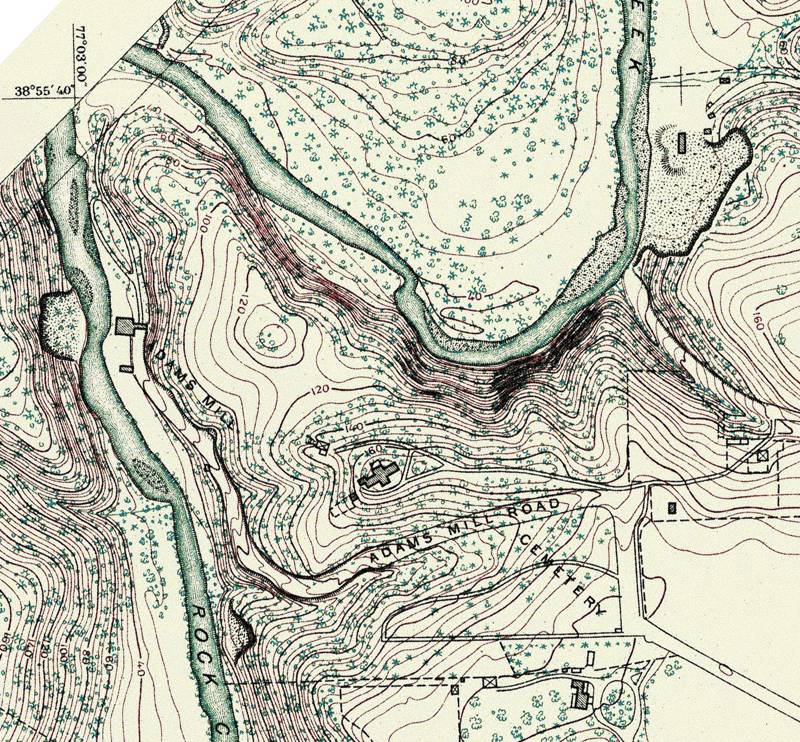 Historical Maps The Walter Pierce Park Cemeteries - Us coast and geodetic survey maps